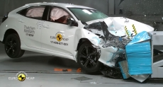 Euro NCAP test sudara Honda Civic